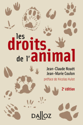 Les Droits de l'animal, aux éditions Dalloz