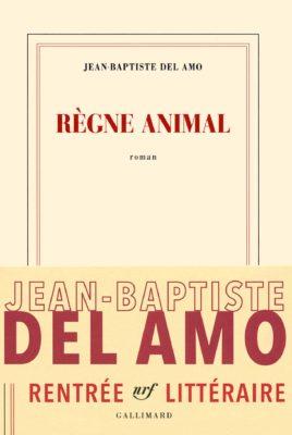 """Livre """"Règne animal"""" de JB Del Amo"""
