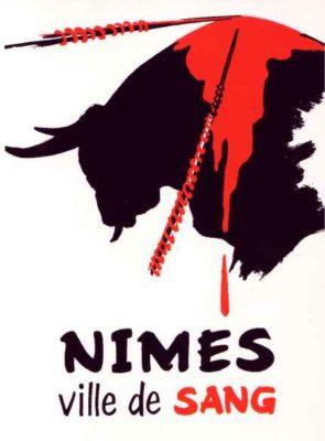 Affiche Nimes ville de sang