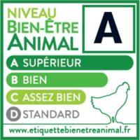 Etiquette niveau bien-être animal